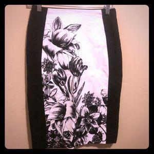 WHBM Knee-length Pencil Skirt